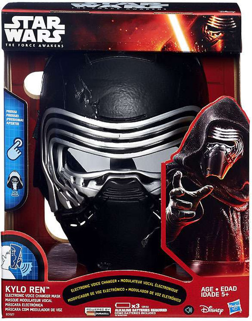 Star Wars The Force Awakens Kylo Ren Electronic Voice Changing Mask