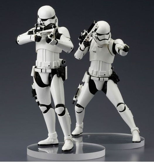 Star Wars The Force Awakens ArtFX+ First Order Stormtroopers Vinyl Statue 2-Pack