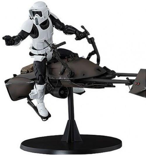 Star Wars S.H. Figuarts Scout Trooper & Speeder Bike Action Figure