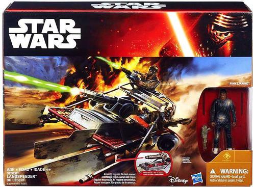 Star Wars The Force Awakens Desert Landspeeder with Finn 3.75-Inch Vehicle [Class II ]