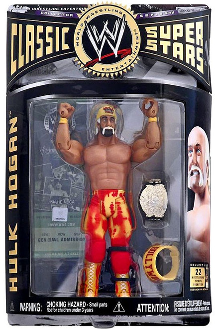 WWE Wrestling Classic Superstars Series 11 Hulk Hogan Action Figure