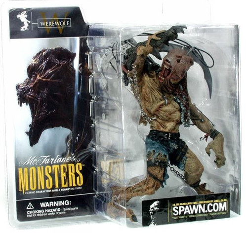 McFarlane Toys McFarlane's Monsters Series 1 Werewolf Action Figure [Clean Package]