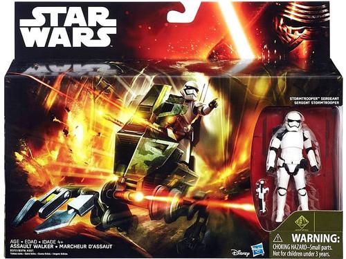 Star Wars The Force Awakens Assault Walker with Stormtrooper Sergeant 3.75-Inch Vehicle & Figure [Class I]