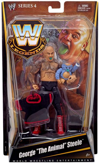 "WWE Wrestling Legends Series 4 George ""The Animal"" Steele Action Figure"