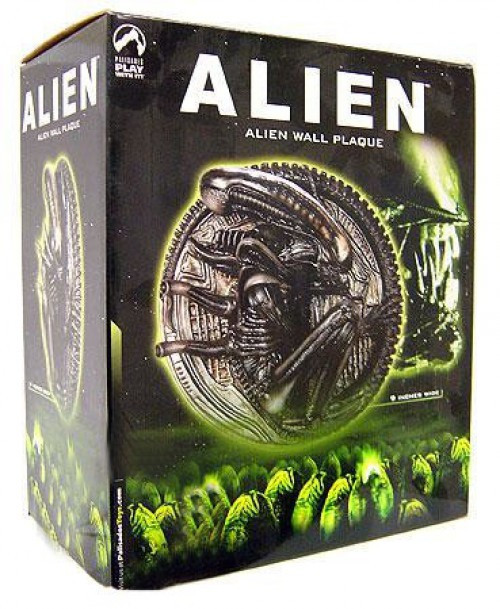 Alien Wall Plaque