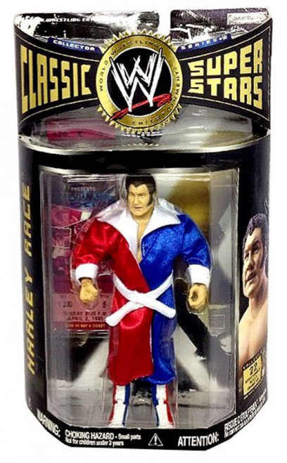 WWE Wrestling Classic Superstars Series 10 Harley Race Action Figure