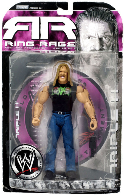 WWE Wrestling Ruthless Aggression Series 24.5 Ring Rage Triple H Action Figure