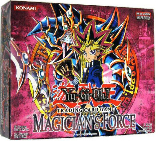 YuGiOh Trading Card Game Magician's Force Booster Box [24 Packs]