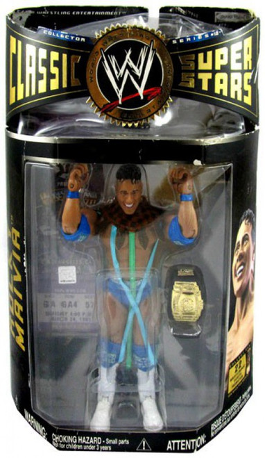 WWE Wrestling Classic Superstars Series 10 Rocky Maivia Action Figure