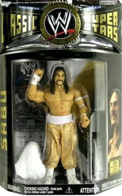 WWE Wrestling Classic Superstars Series 10 Sabu Action Figure