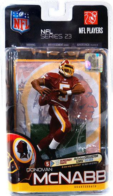 McFarlane Toys NFL Washington Redskins Sports Picks Series 23 Donovan McNabb Action Figure [Burgundy Pants]