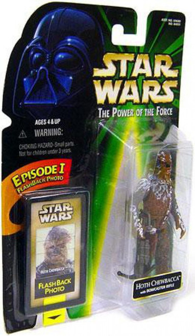 Star Wars The Empire Strikes Back Power of the Force POTF2 Flashback Hoth Chewbacca Action Figure [Hoth]