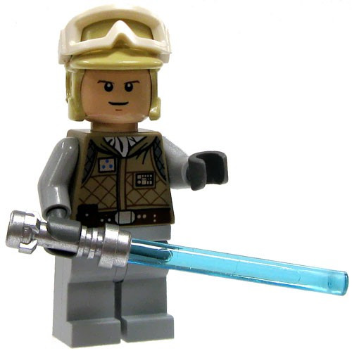 LEGO Star Wars Luke Skywalker Minifigure [Hoth Survival Gear Loose]