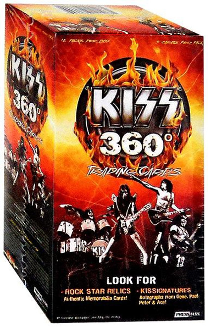 KISS 360 Degrees Trading Card Value Box