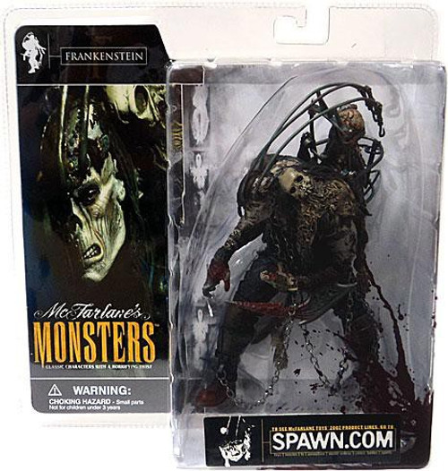 McFarlane Toys McFarlane's Monsters Frankenstein Action Figure [Blood Splattered Package Variant]