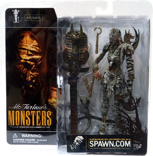McFarlane Toys McFarlane's Monsters Mummy Action Figure [Blood Splattered Package Variant]