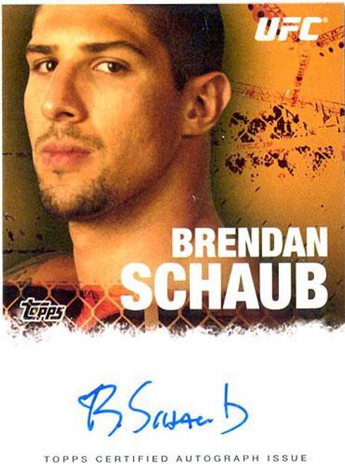 Topps UFC 2010 Championship Autograph Fighters & Personalities Brendan Schaub FA-BSC