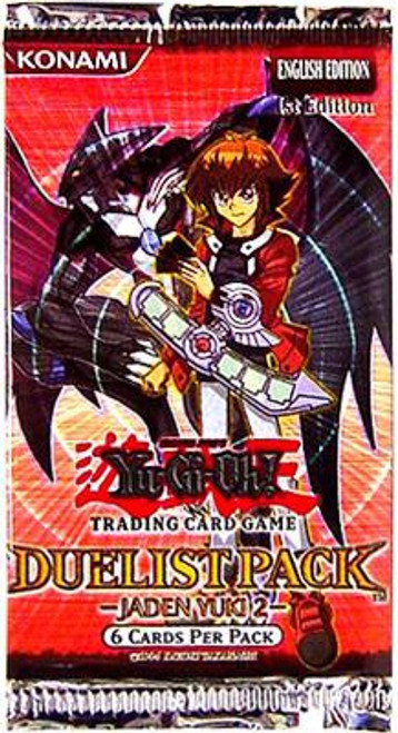 YuGiOh Trading Card Game Duelist Pack Jaden Yuki 2 Booster Pack [6 Cards]