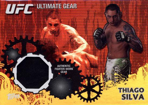 Topps UFC 2010 Championship Ultimate Gear Relic Randy Couture UG-TS