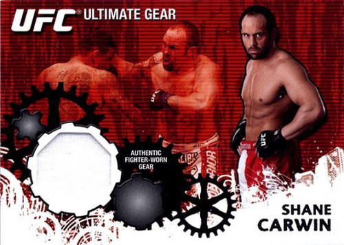 Topps UFC 2010 Championship Ultimate Gear Relic Shane Carwin UG-SC