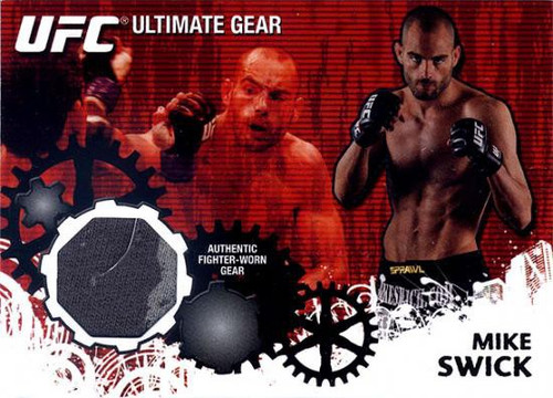 Topps UFC 2010 Championship Ultimate Gear Relic Mike Swick UG-TD