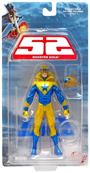 DC 52 Series 1 Booster Gold Action Figure