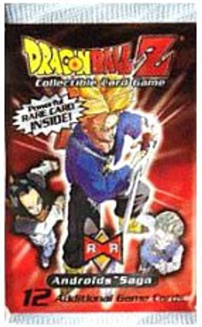 Dragon Ball Z Collectible Card Game Androids Saga Booster Pack