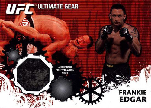 Topps UFC 2010 Championship Ultimate Gear Relic Frankie Edgar UG-FE [Patterned]