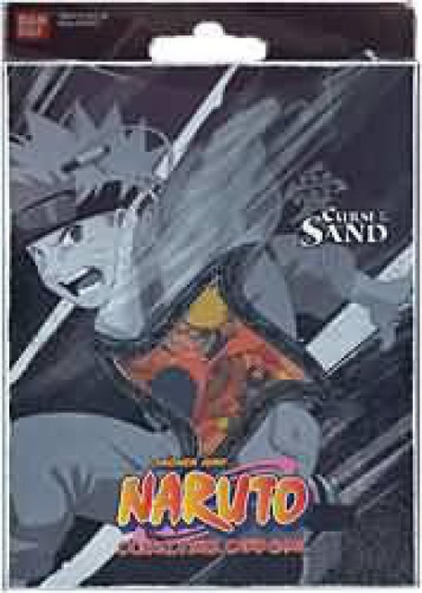 Card Game Curse of the Sand Naruto Theme Deck [Black]