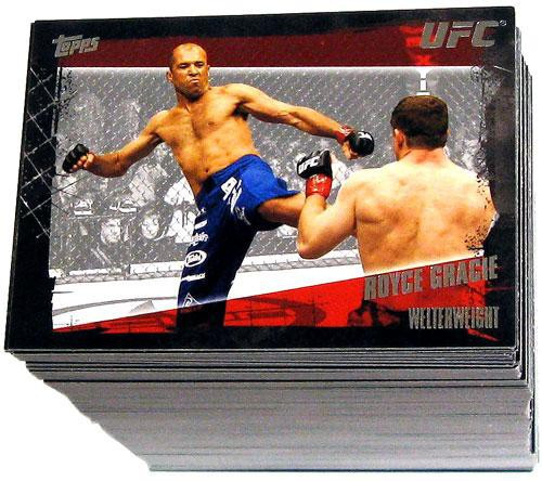 Topps UFC 2010 Championship Complete Base Set