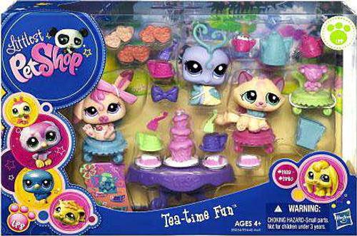 Littlest Pet Shop Tea-Time Fun Playset