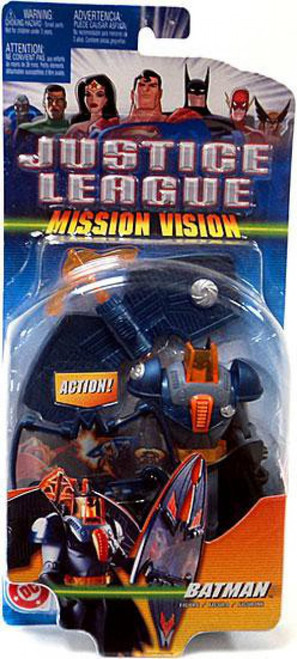 Justice League Mission Vision Batman Action Figure [Blue & Gray Armor]