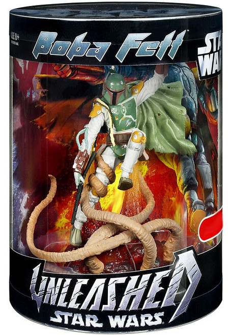 Star Wars Return of the Jedi Unleashed Boba Fett Exclusive Action Figure
