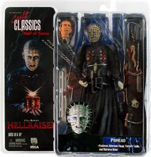 NECA Hellraiser Cult Classics Hall of Fame Series 1 Pinhead Action Figure