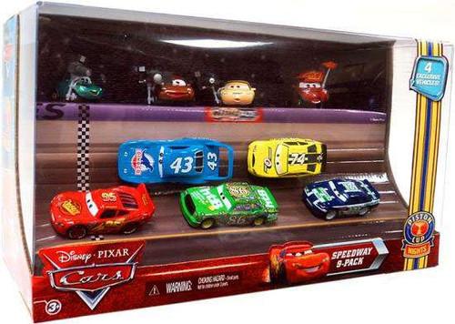 Disney / Pixar Cars Multi-Packs Piston Cup Nights Speedway 9-Pack Exclusive Diecast Car Set
