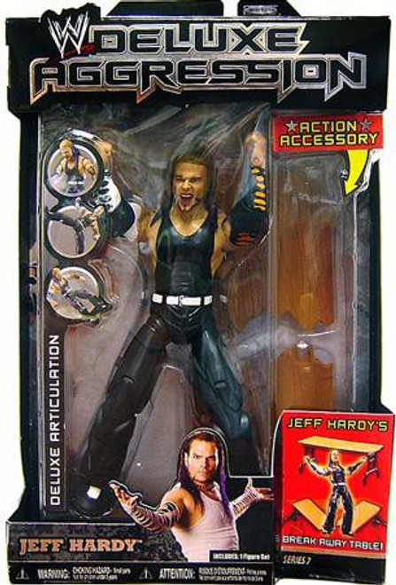 WWE Wrestling Deluxe Aggression Series 7 Jeff Hardy Action Figure