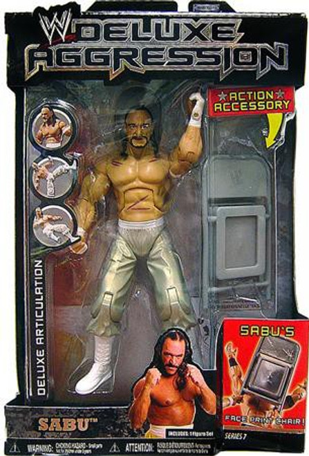 WWE Wrestling Deluxe Aggression Series 7 Sabu Action Figure
