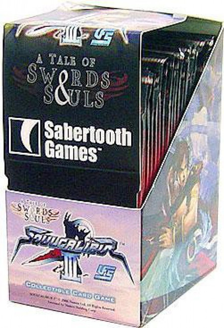 Universal Fighting System Soul Calibur III A Tale of Swords & Souls Booster Box