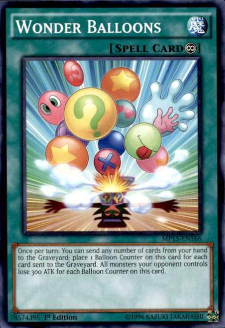 YuGiOh 2015 Mega-Tin Mega Pack Common Wonder Balloons MP15-EN166