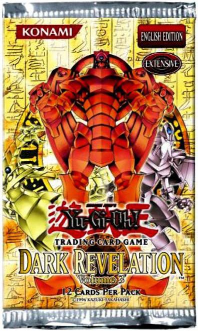 YuGiOh Trading Card Game Dark Revelation 3 Booster Pack