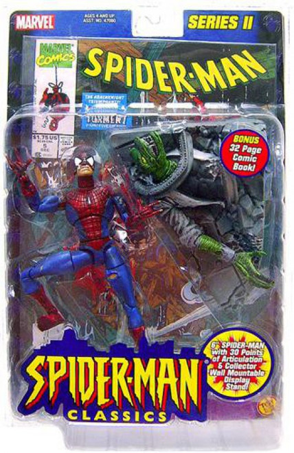 Spider-Man Classics Series II Battle Ravaged Spider-Man Action Figure #5