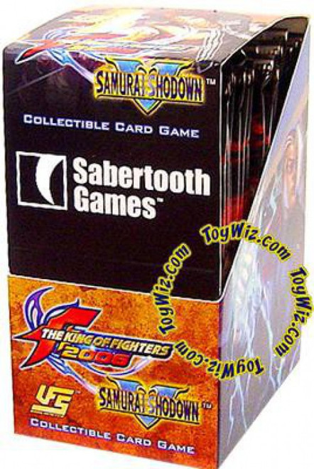Universal Fighting System The King of Fighters 2006 / Samurai Shodown The King of Fighters / Samurai Shodown Booster Box