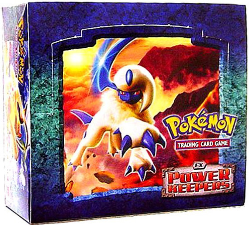 Pokemon Trading Card Game EX Power Keepers Booster Box [36 Packs]