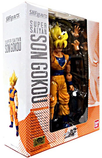 Dragon Ball Z S.H. Figuarts Super Saiyan Son Goku Action Figure