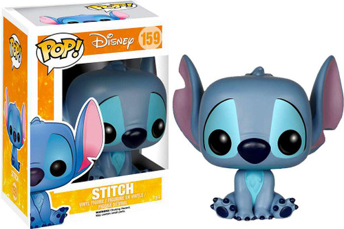 Funko Lilo & Stitch POP! Disney Stitch Vinyl Figure #159 [Sitting]