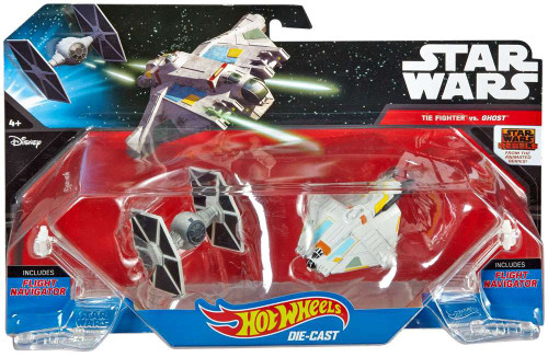 Star Wars Rebels Hot Wheels TIE Fighter vs. Ghost 3-Inch Die-Cast Car