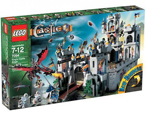 LEGO King's Castle Siege Set #7094