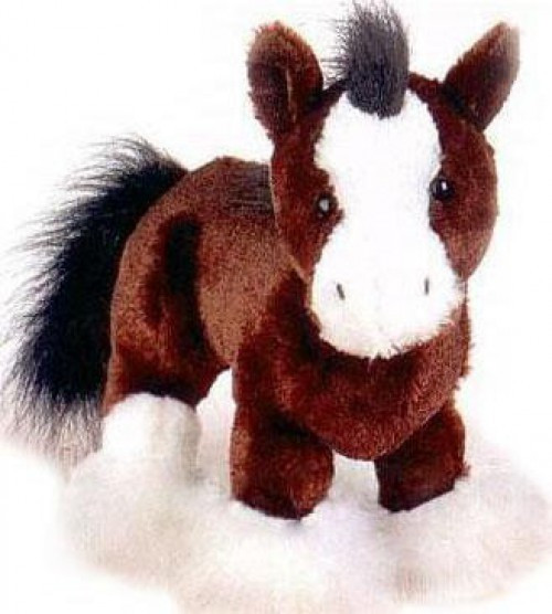 Webkinz Clydesdale Horse Plush