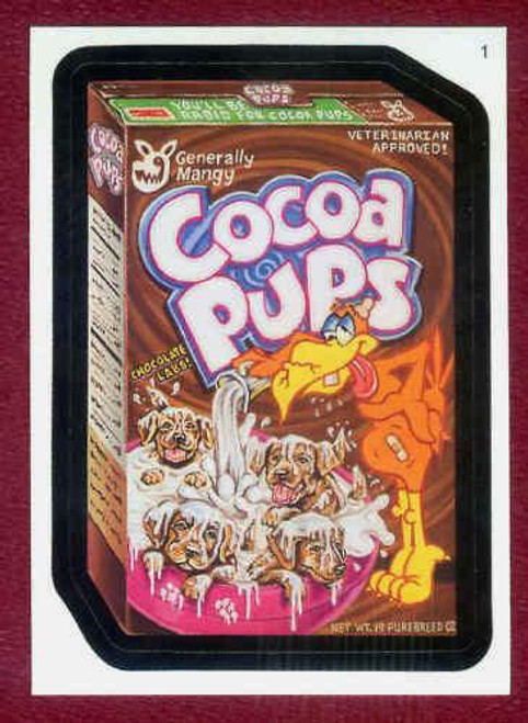 Wacky Packages Topps 2006 Series 3 Trading Card Sticker Complete Set