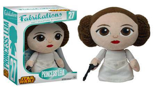 Star Wars Funko Fabrikations Princess Leia 6-Inch Plush #27